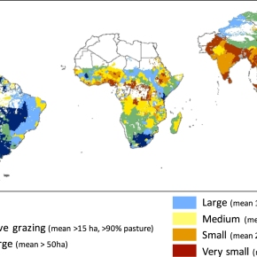First map of smallholder farms in the developing world: They produce more than half the planet's foodcalories