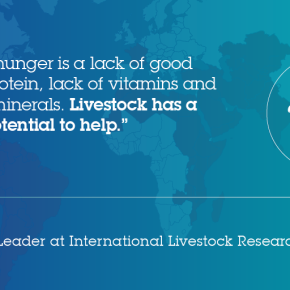 Could animals help solve the world's 'calorie' as well as 'hidden' hunger?—ILRI's Delia Grace on World FoodDay