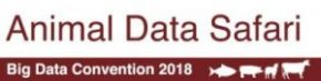 An animal data safari at the 2018 CGIAR Big Data in Agriculture Convention