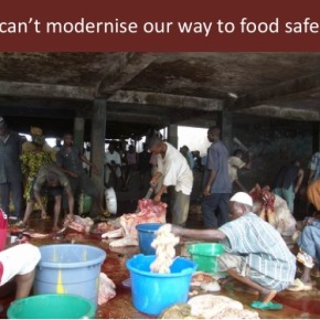 'We can't modernize, regulate or train our way to food safety in Africa'—ILRI epidemiologist Silvia Alonso