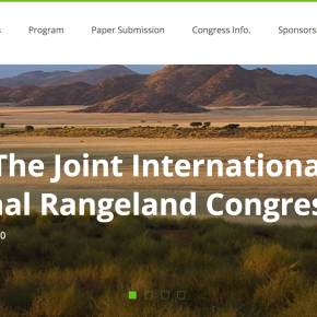 Deadline for submitting abstracts for the Joint International Grassland/Rangeland Congress extended to 23 Dec 2019